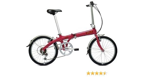 Dahon Eco C6 - Bicicleta plegable, color rojo: Amazon.es: Deportes ...