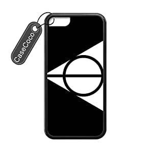 CASECOCO(TM) iPhone 4/4s Case, Harry Potter Case for iPhone 4/4s - Protective Hard Back / Black Rubber Sides
