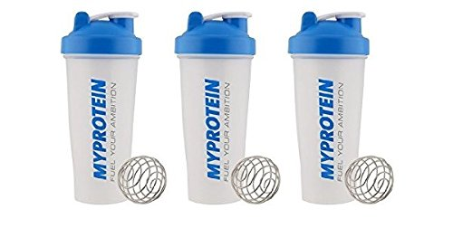 Clear 600ml x3 MyProtein Unisexs Blendor Pack of 3 Bottle