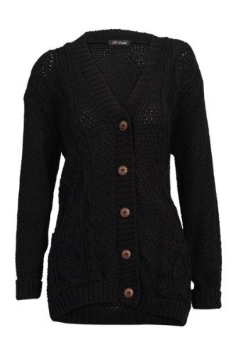 tricot femme 52I Hanger pour Cardigan Purple irlandais wZxq8t6FRq