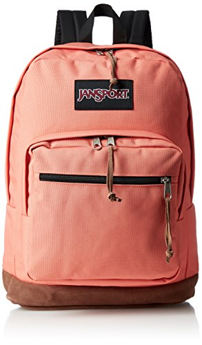 JanSport Unisex Right Pack Laptop Backpack Faded Coral by JanSport