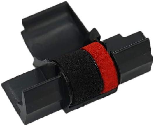 6 PK  Canon P2DH P23DH P121DH P200DH P220DH Black//Red Calculator Ribbon IR40T