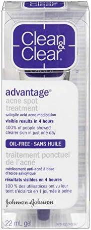 Clean & Clear Advantage Acne Spot Treatment With Salicylic Acid Acne Medication, 2