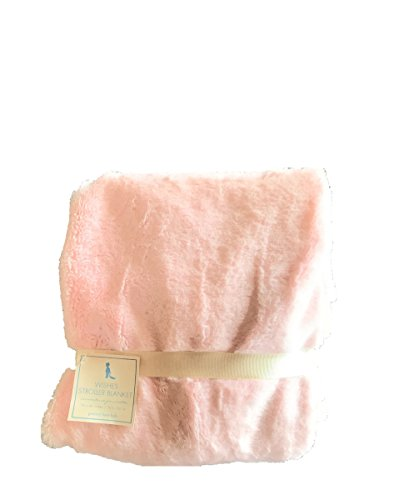 Pottery Barn Kids Baby Wishes Nursery Stroller Blanket Pink