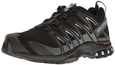 Salomon Men's XA Pro 3D M+ Trail Runner, Black/Magnet/Quiet Shade, 7 D US