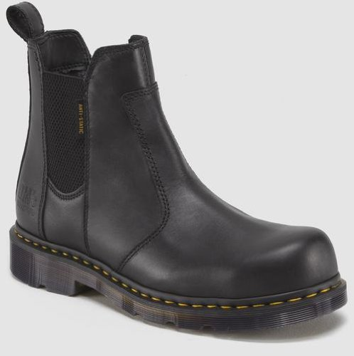 Dr. Martens Men's Fusion Safety Toe Chelsea Boot,Black,9 UK/10 M US