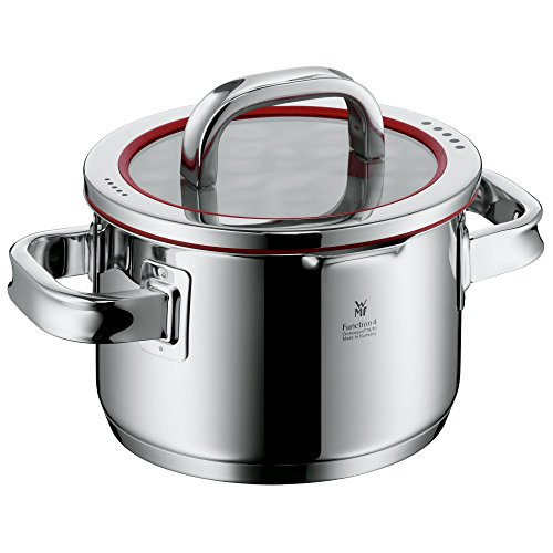 "Cheap WMF Function 4 Pot – Ø 6""/16 cm (approx. 2qt/1,9l) – Lid with 4 functions – Made in Germany"