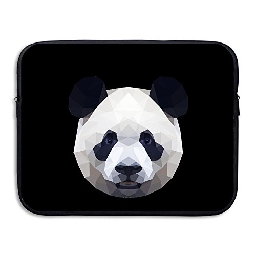 Bear Carrying On Shoulders Costume (Panda Briefcase Handbag Case Cover For 13-15 Inch Laptop, Notebook, MacBook Air/Pro)