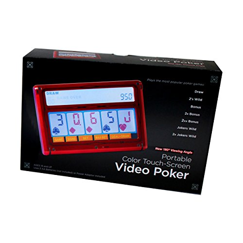 Electronic Color Screen Poker by Hansen, John N Co.