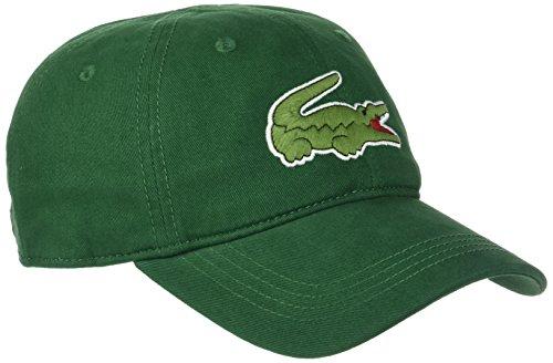 Lacoste, Gorra de béisbol para Hombre Verde (Vert)
