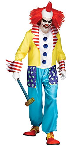 Wicked Clown Master Adult Costume - Standard