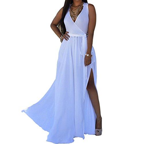 Sexy Women Summer Long Maxi Beach Chiffon Dress - 9