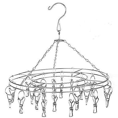 Amazon.com: STSUNEU-L705 - Perchero para colgar con clip ...