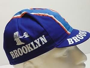 Brooklyn - Gorra de ciclismo (algodón), color azul
