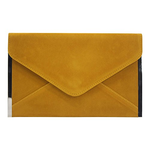 Wedding Yellow Laies Coral Women Shoulder Cckuu Handbag Bag Clutches Party Evening Envelope qfXgxwRP