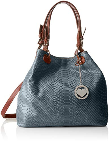 Tutto Shoulder Marrone Grigio Bag Multicolour Women's Chicca Cbc7724tar Moda d0qwI8
