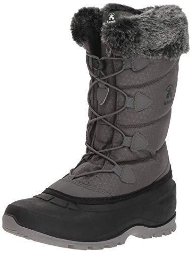 Kamik Momentum2 charcoal Gris charbon Nieve Para Cha Botas Mujer De FFqrw