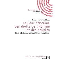 La Cour africaine des droits de l'Homme et des peuples: Étude à la lumière de l'expérience européenne
