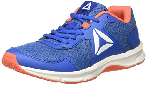Reebok Womens Express Runner Scarpa Da Corsa Echo Blue / Awesome Blue / Fire Coral / White / Black