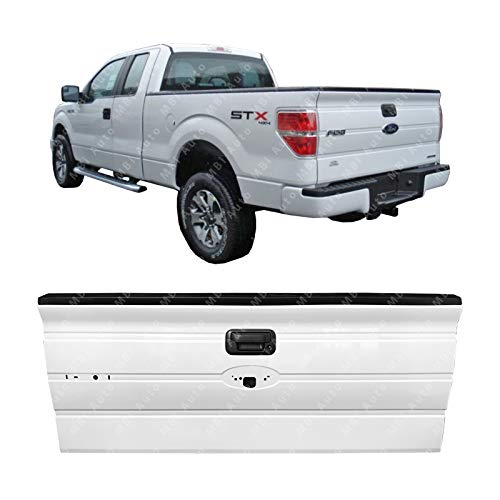 Mbi Auto Painted Yz Z1 White Steel Tailgate Assembly 2009 2014 Ford F150 Svt Raptor W Out Integrated Step 09 14 Fo1900124
