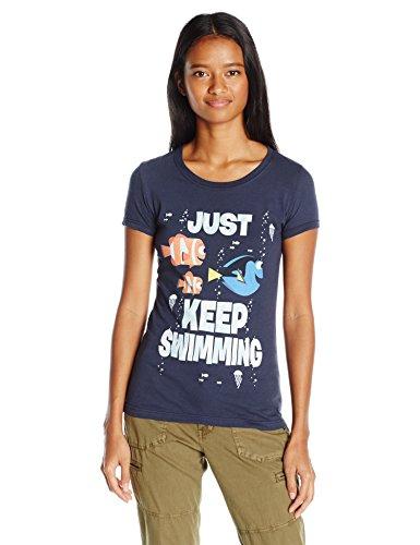 Disney Pixar Juniors Just Swimming Graphic T-Shirt