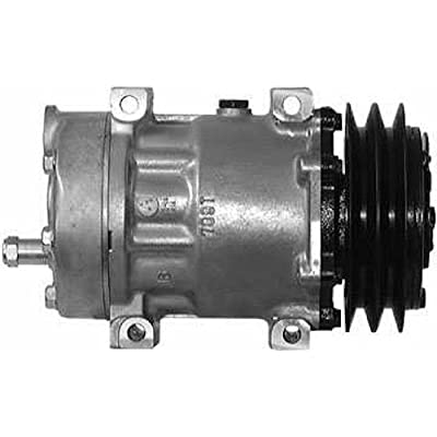AirSource 5333 A/C Compressor (With 8 Groove Clutch Sanden Shd): Automotive