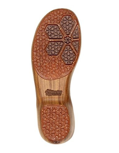 4eursole Rkh229 Comforts 4ever T-strap Shoe Caoba Para Mujer