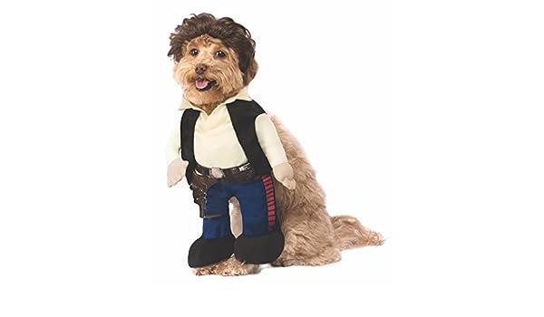 Generique - Disfraz Han Solo Star Wars para Perro: Amazon.es ...