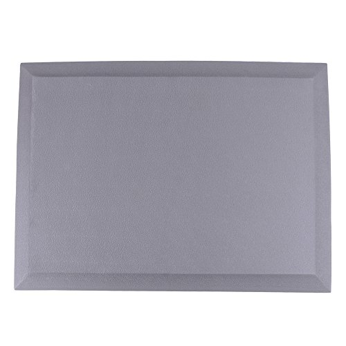 """Anti Fatigue Mat 3/4"""" Thick Comfort Floor Mats for Kitchens and Office Standing Desks by Fani (24"""" x 18"""", Grey) by fani"""