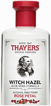 Thayers Alcohol-free Rose Petal Witch Hazel with Aloe Vera 3 Ounces
