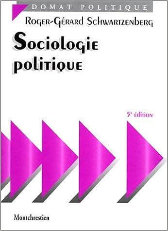 Versions pdf des livres à télécharger Sociologie politique, 5e édition 2707610569 CHM