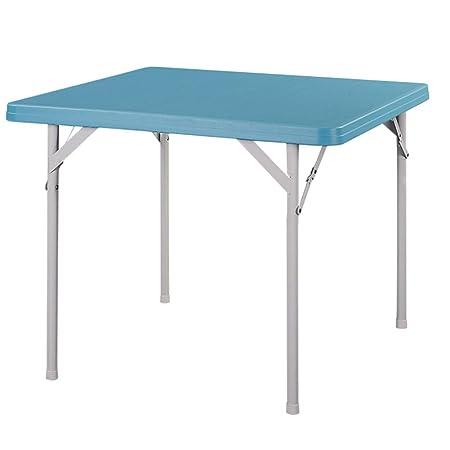 XiuHUa Mesa plegable, mesa cuadrada plegable mesa de comedor en ...
