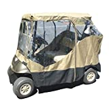 Golf cart driving enclosure 2 seater