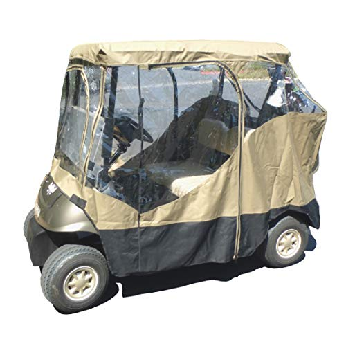 Golf cart driving enclosure