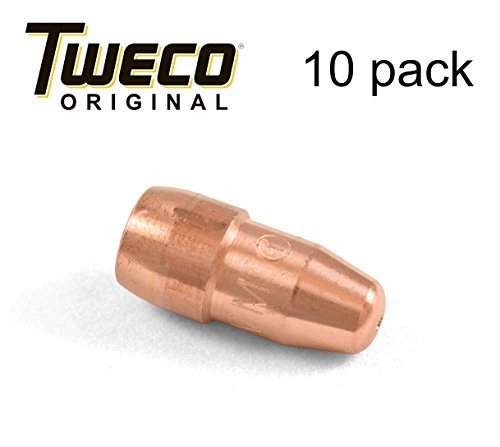 Tweco VTS35 Velocity Light Duty MIG Welding Contact Tip, 0.035'' Wire Size, Standard (Pack of 10) by Tweco