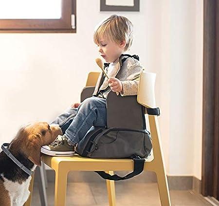 Burgundy Arlo-Silla bolso Bebe Elevador de asiento