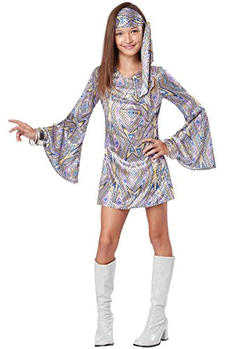California Costumes Disco Darling Costume, One Color, 8-10