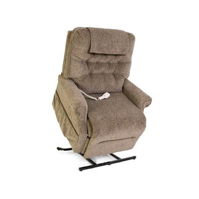GL-358XL Heritage Collection Heavy Duty Lift Chair with Button Back - Quick Ship
