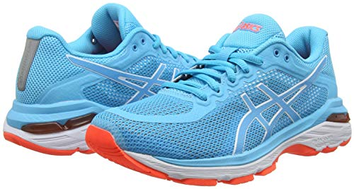 Pursue Pursue Blue Aquário 4 4 4 Gel Shoes 400 Mulher Asics Running H8Fqwqf