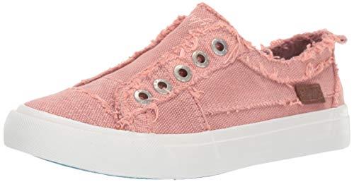 Canvas Tennis Shoes - Blowfish Women's Play Sneaker, Rose Clay Martin Canvas, 8.5 M US