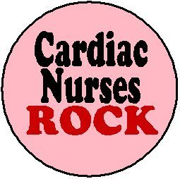 amazon com cardiac nurses rock 1 25 magnet nurse nursing other