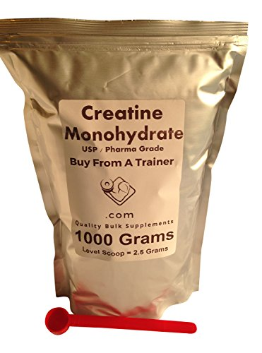 1000 Grams Creatine Monohydrate Pure Powder (2.2 Lbs) Muscle Kilo Kilogram 1000g