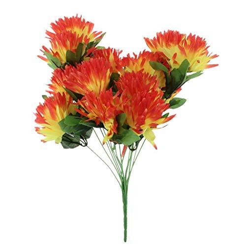 Amazon Artificial Silk Flowers Bouquet Funeral Cemetery Grave