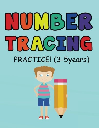 Number Tracing  Practice (3-5 years): Kids first learning numbers from 0-10 (Number Tracing  Practice Series) ebook