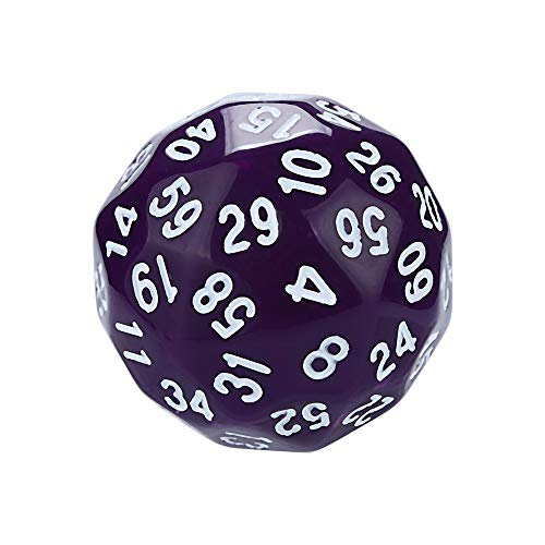 Dice Toys Games Games Accessories Dice Accessories Polyhedral Role Playing Polyhedral D60 Dice with multiple sides