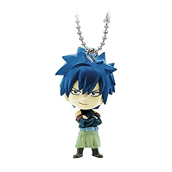 Fairy Tail Swing PVC Figura Llavero Gray Fullbuster