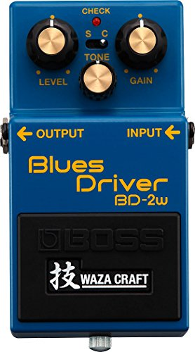 Boss BD-2W Blues Driver Waza Craft Special Edition