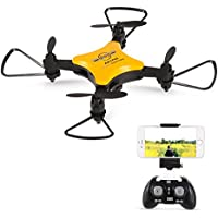 Goolsky TYH TY-T7 0.3MP Camera Wifi FPV Foldable Mini Drone Headless Mode Altitude Hold RC Quadcopter