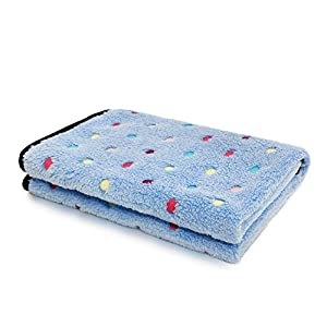 PAWZ Road Pet Dog Blanket Fleece Fabric Soft and Cute 4 Colors 4 Sizes 23