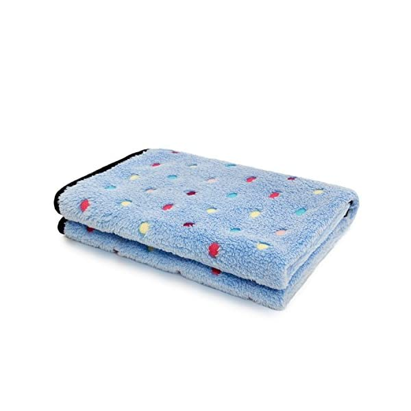 PAWZ Road Pet Dog Blanket Fleece Fabric Soft and Cute 4 Colors 4 Sizes 1